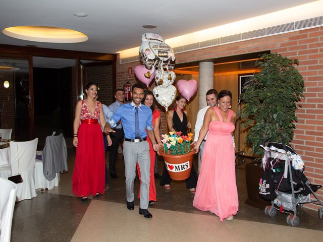 La boda de Lara y Jose en Premia De Dalt, Barcelona 45