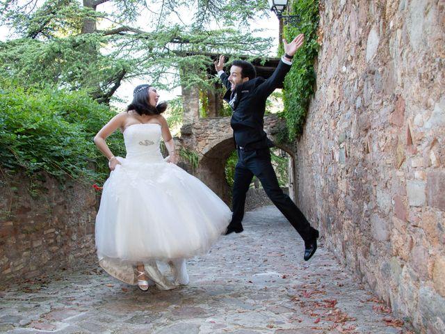 La boda de Lara y Jose en Premia De Dalt, Barcelona 54