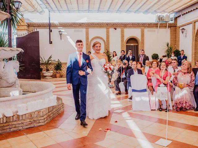 La boda de Fran y Esperanza en Albaida Del Aljarafe, Sevilla 13