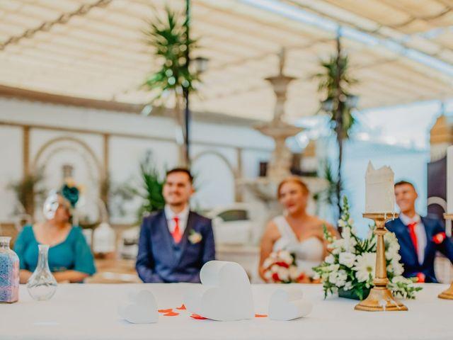 La boda de Fran y Esperanza en Albaida Del Aljarafe, Sevilla 15