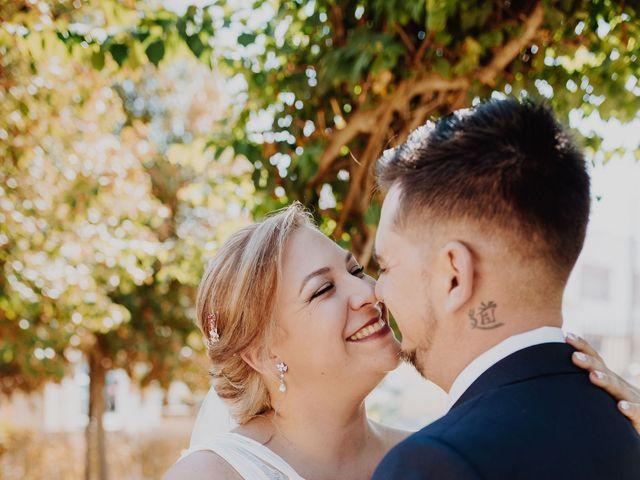 La boda de Fran y Esperanza en Albaida Del Aljarafe, Sevilla 22