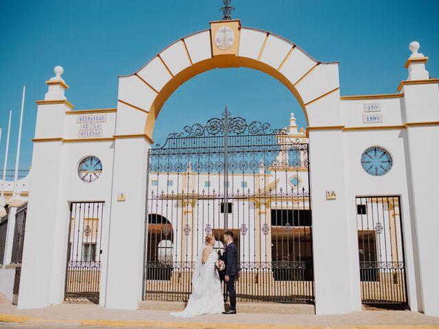 La boda de Fran y Esperanza en Albaida Del Aljarafe, Sevilla 30