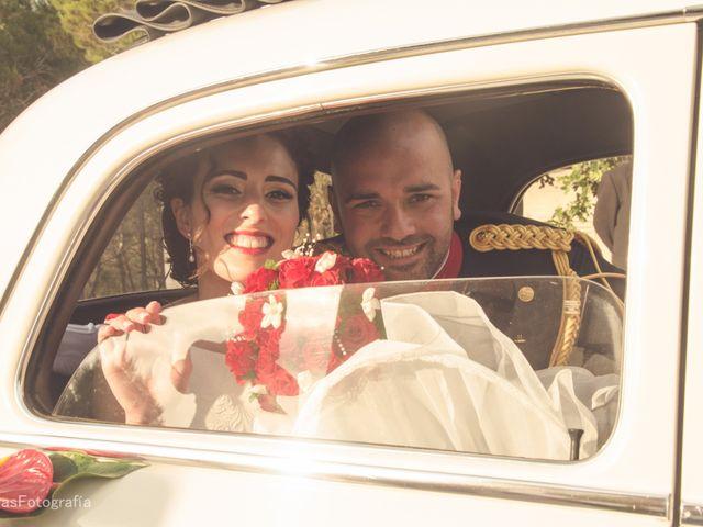 La boda de Antonio y Pilar en Algorfa, Alicante 14