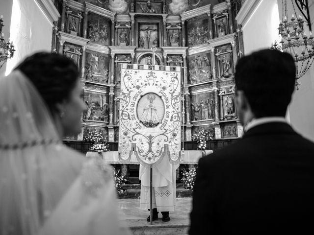 La boda de Mercedes y Jesús en Villafranca De Los Barros, Badajoz 34