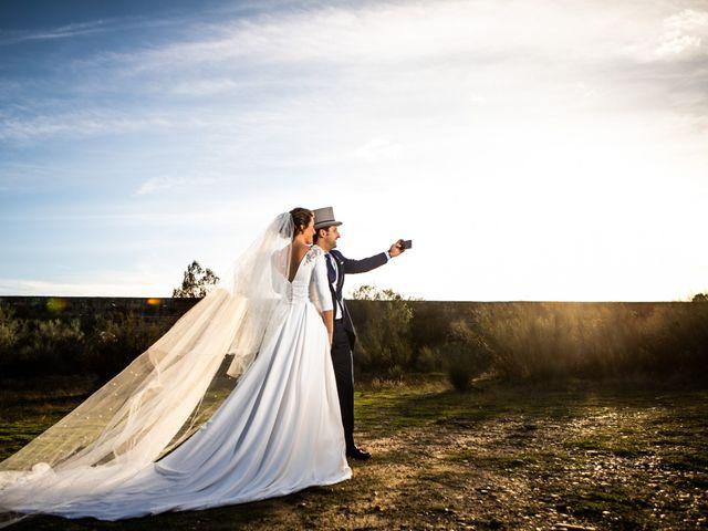 La boda de Mercedes y Jesús en Villafranca De Los Barros, Badajoz 45