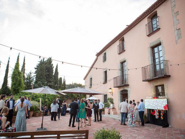 La boda de Pablo y Pilar en Sant Vicenç De Montalt, Barcelona 44