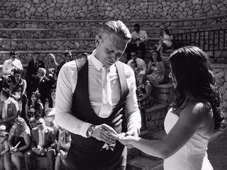 La boda de Kim y Robert