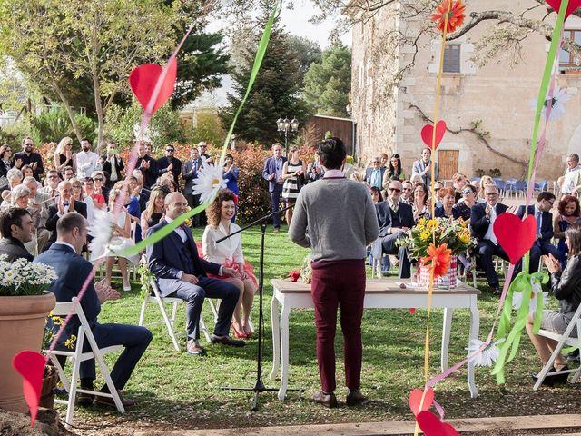 La boda de Francesc y Luna en Estanyol, Girona 30