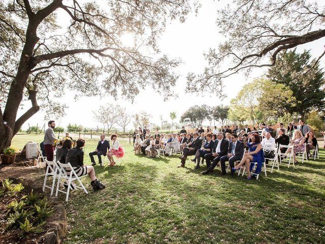 La boda de Francesc y Luna en Estanyol, Girona 31