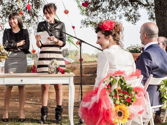 La boda de Francesc y Luna en Estanyol, Girona 32
