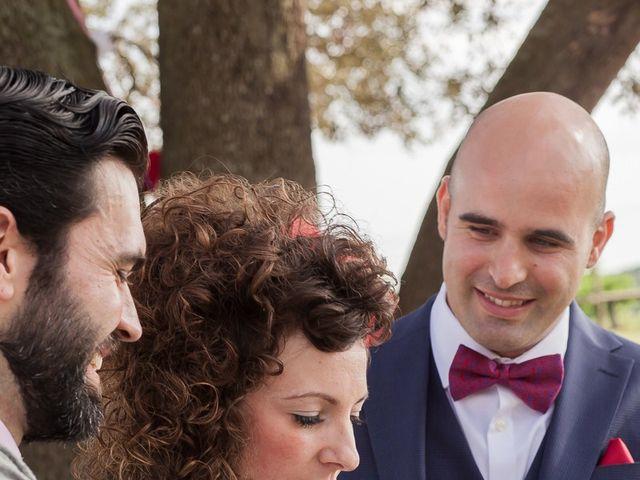 La boda de Francesc y Luna en Estanyol, Girona 35