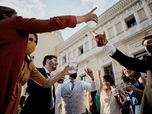 La boda de Quique y Beatriz en Castillo De Viñuelas, Madrid 65