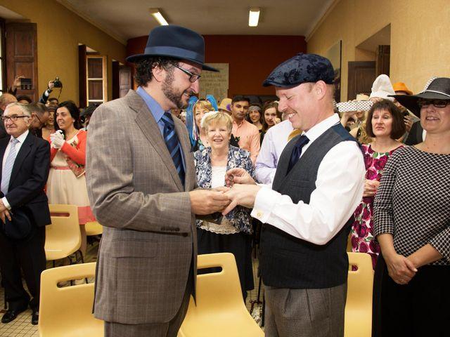 La boda de Carlos y Marc en Pueblo Franciach, Girona 17