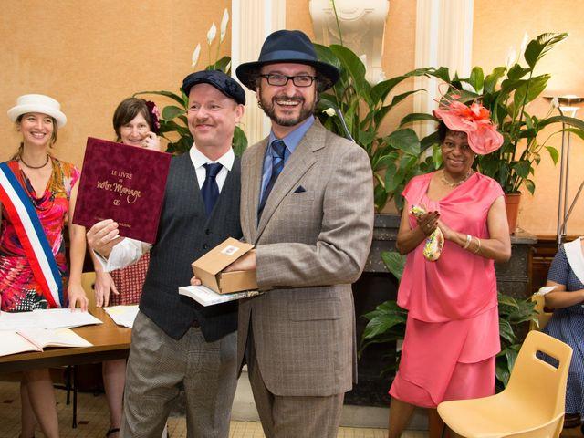 La boda de Carlos y Marc en Pueblo Franciach, Girona 22