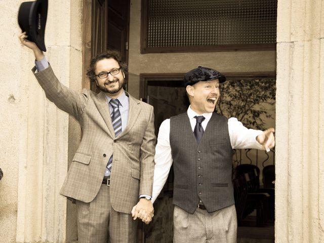 La boda de Carlos y Marc en Pueblo Franciach, Girona 26