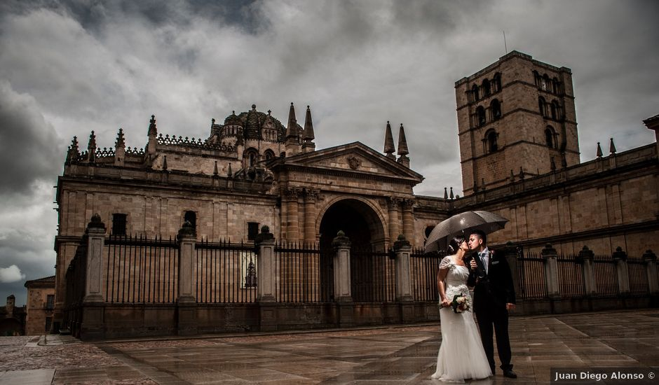 La boda de Jose y Josefina en Zamora, Zamora