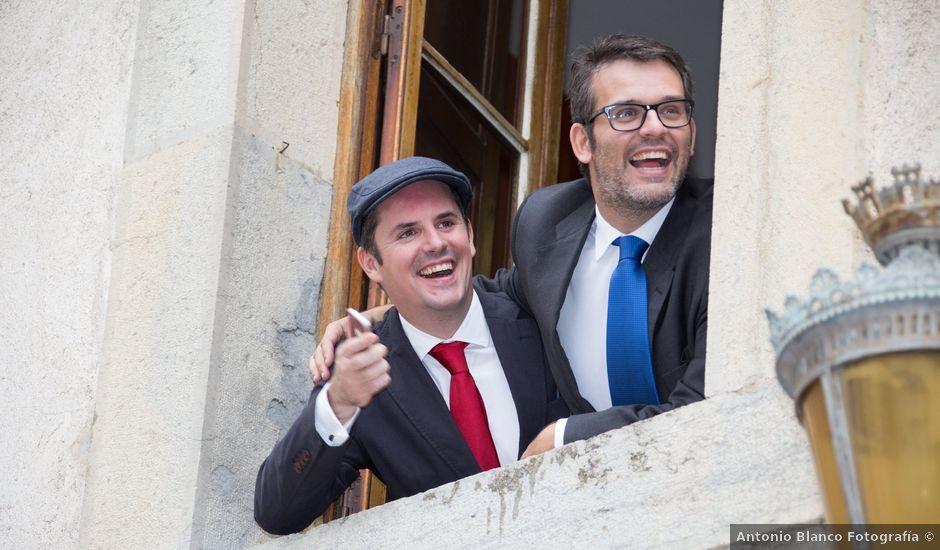 La boda de Carlos y Marc en Pueblo Franciach, Girona