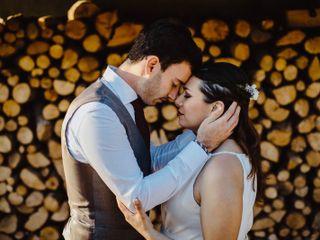 La boda de Cristian Esteve y Clara Comas