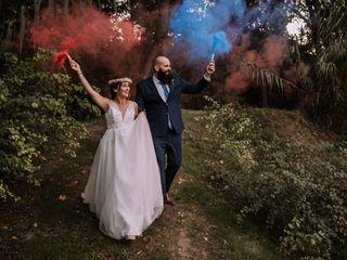 La boda de Meritxell y Ruben