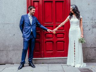 La boda de Soledad y Ewan