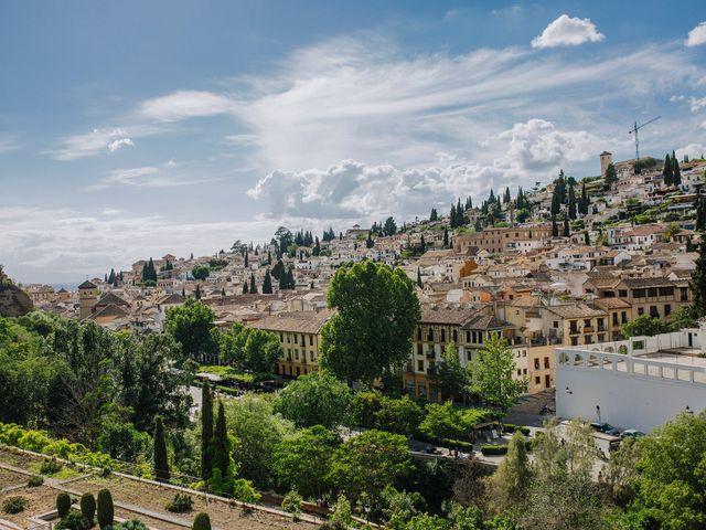 La boda de Carlos y Natasha en Granada, Granada 20