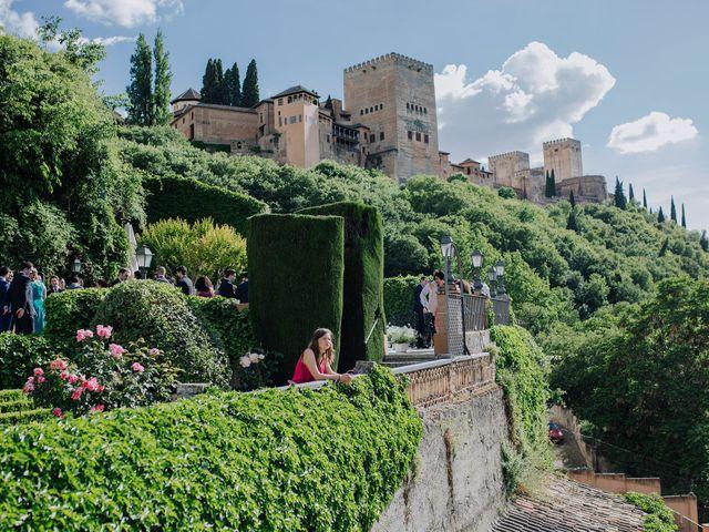 La boda de Carlos y Natasha en Granada, Granada 21