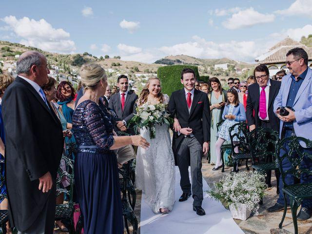 La boda de Carlos y Natasha en Granada, Granada 26