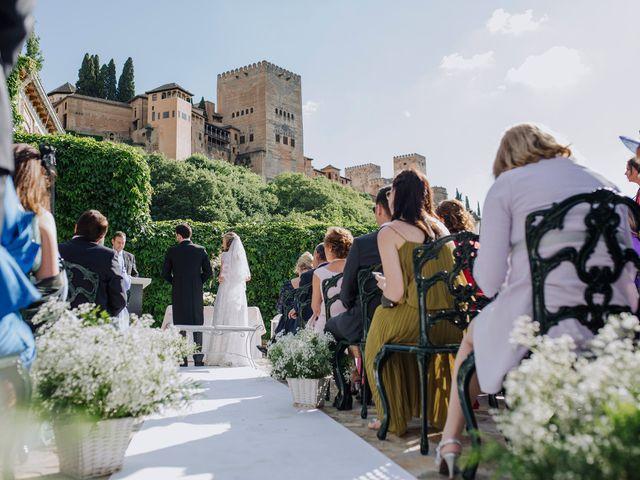 La boda de Carlos y Natasha en Granada, Granada 1