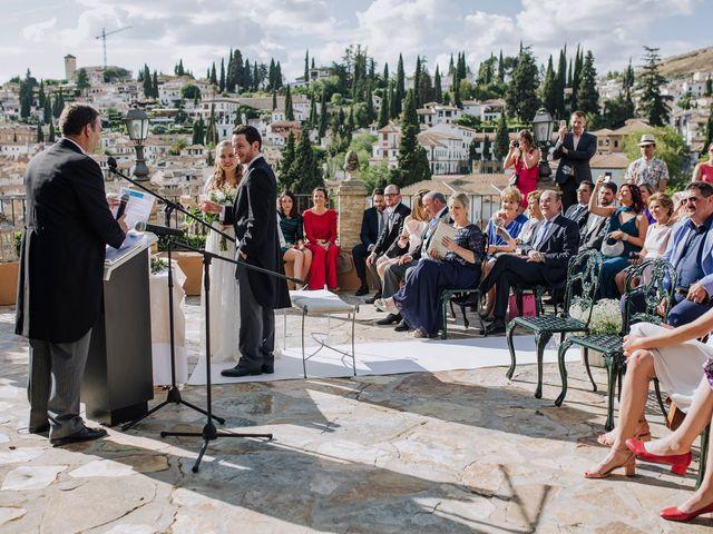 La boda de Carlos y Natasha en Granada, Granada 28
