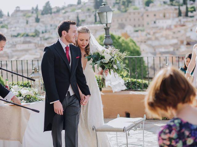La boda de Carlos y Natasha en Granada, Granada 31