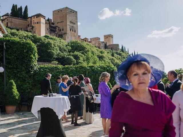 La boda de Carlos y Natasha en Granada, Granada 35