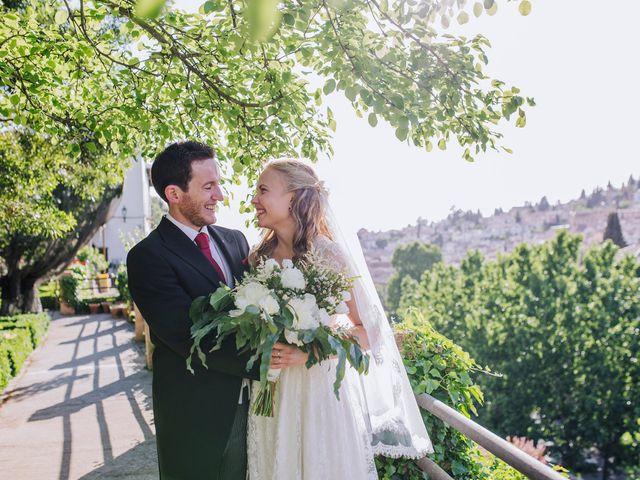 La boda de Carlos y Natasha en Granada, Granada 36