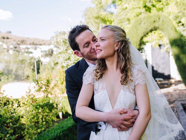 La boda de Carlos y Natasha en Granada, Granada 38