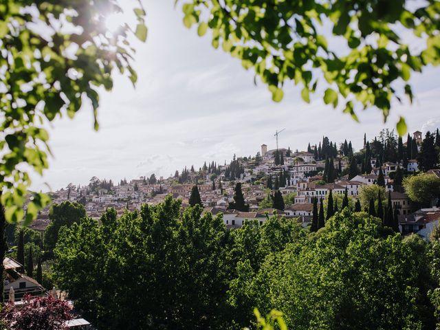 La boda de Carlos y Natasha en Granada, Granada 39