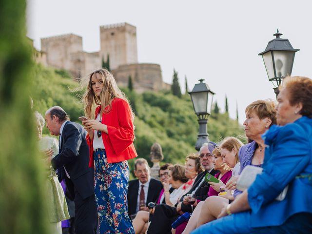 La boda de Carlos y Natasha en Granada, Granada 46