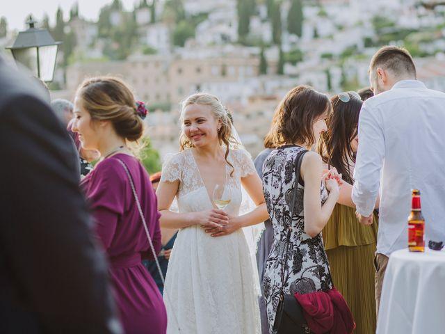 La boda de Carlos y Natasha en Granada, Granada 48