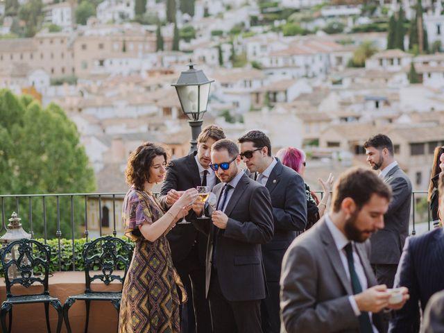 La boda de Carlos y Natasha en Granada, Granada 50