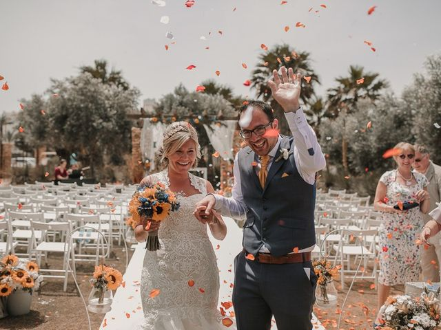 La boda de Jaume y Astrid en Almerimar, Almería 71