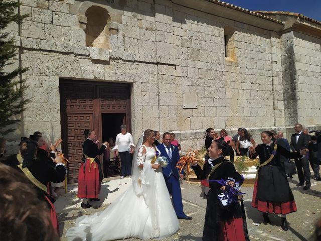 La boda de Miguel y Sara en Alba De Cerrato, Palencia 3