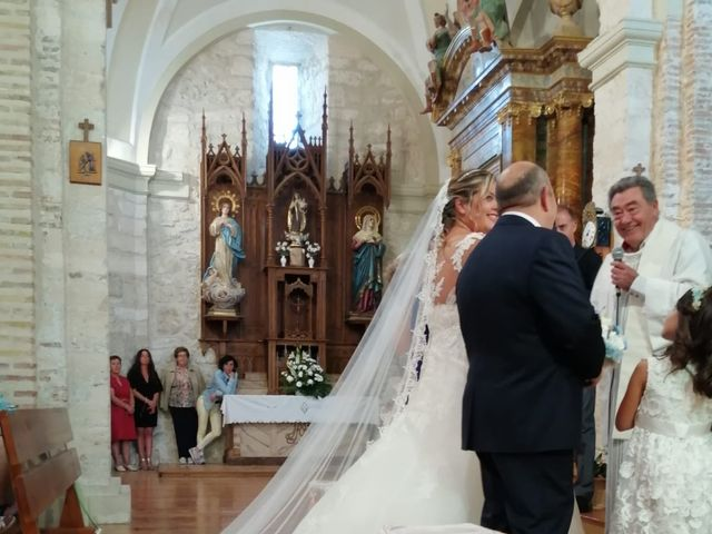 La boda de Miguel y Sara en Alba De Cerrato, Palencia 4