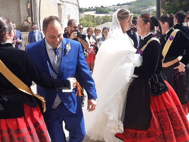 La boda de Miguel y Sara en Alba De Cerrato, Palencia 9