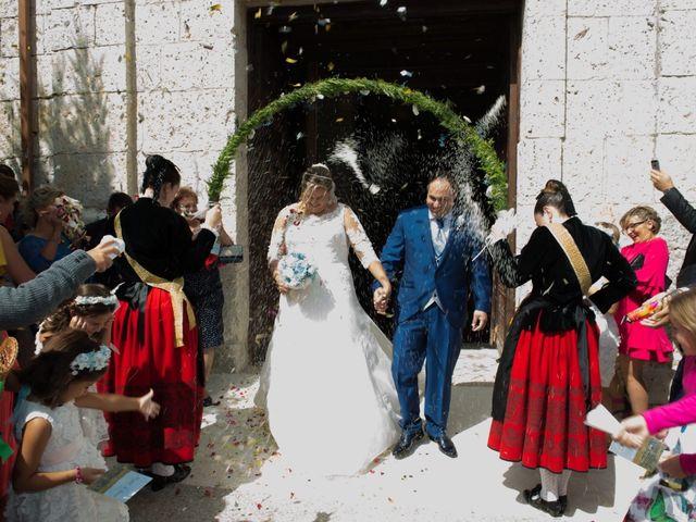 La boda de Miguel y Sara en Alba De Cerrato, Palencia 1