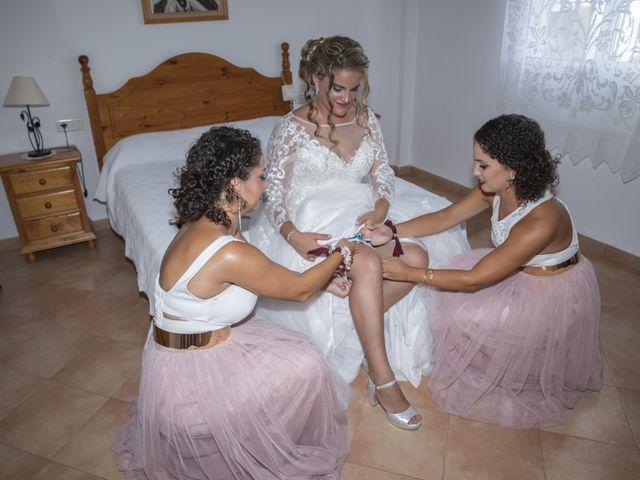 La boda de Alberto y Ester en Benajarafe, Málaga 1