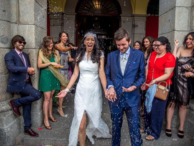 La boda de Ewan y Soledad en Madrid, Madrid 16