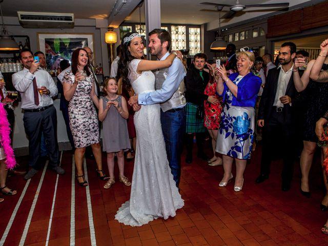 La boda de Ewan y Soledad en Madrid, Madrid 33
