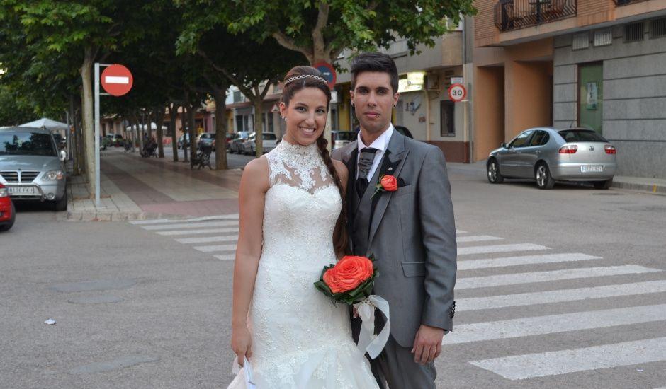 La boda de Sara y JuanMi  en Villatoya, Albacete
