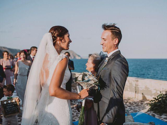 La boda de Germán y Cristina en Huercal De Almeria, Almería 35