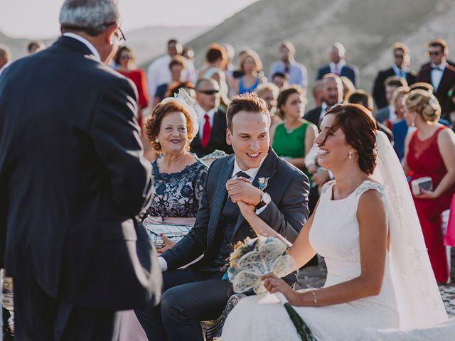 La boda de Germán y Cristina en Huercal De Almeria, Almería 37