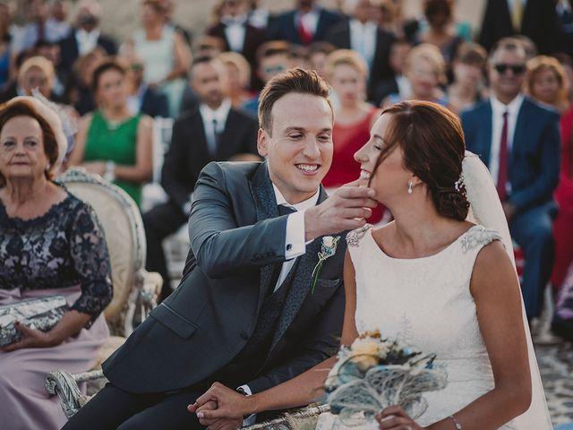 La boda de Germán y Cristina en Huercal De Almeria, Almería 2
