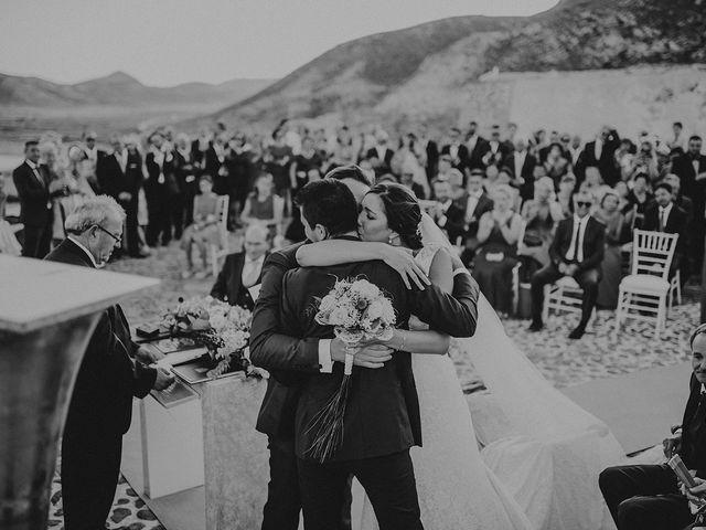 La boda de Germán y Cristina en Huercal De Almeria, Almería 48